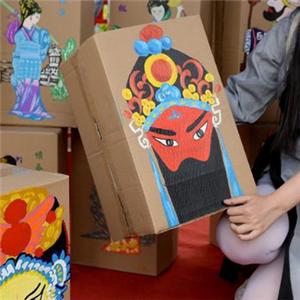 画格美术教育脸谱