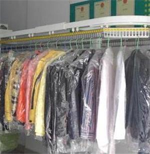 艷麗干洗店衣物