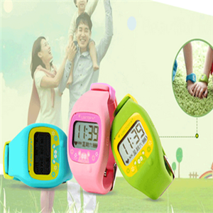 巴里儿童定位手表形态