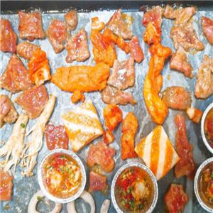 瓜豆传说韩国纸上烧烤美味