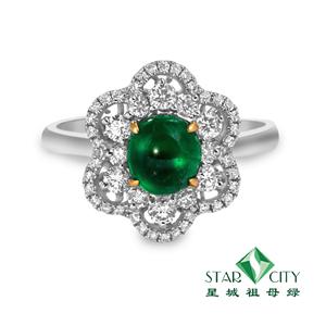 星城祖母绿水晶品质