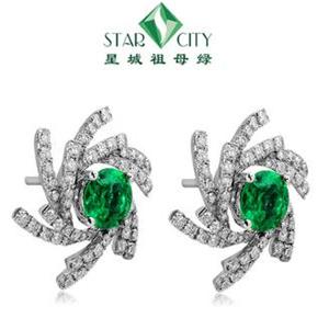 星城祖母绿水晶饰品