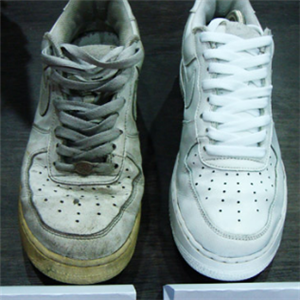 鞋護衛洗鞋對比