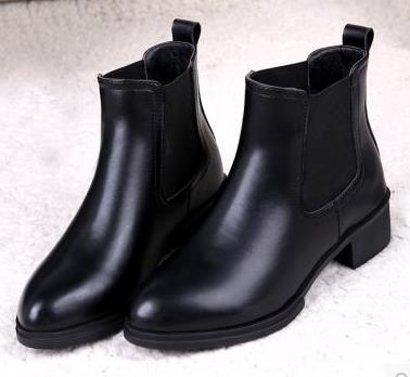 傲麦皮毛女鞋皮鞋