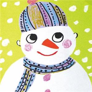 哆熊国际美育雪人