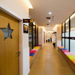 小银星艺术培训中心走廊