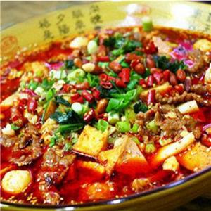 蜀烩火锅冒菜风味