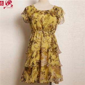 衣典女装碎花裙