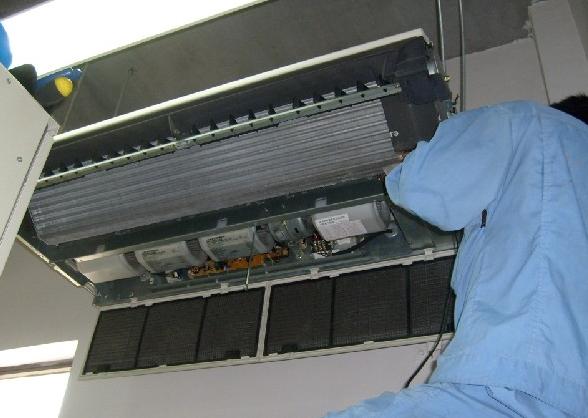 空调清洗电脑清洗拆开