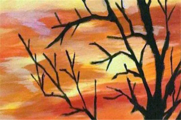 彩童美術夕陽