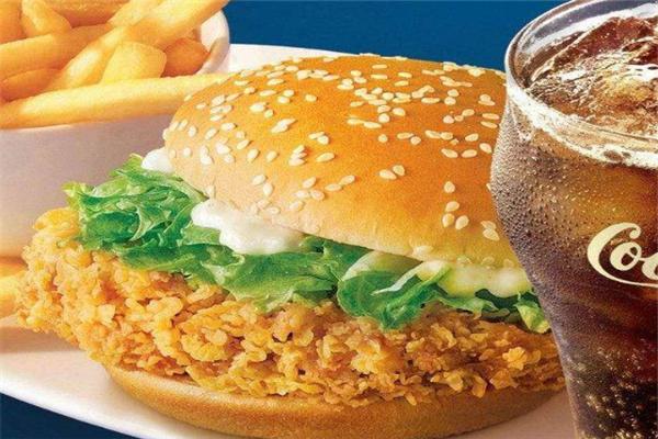 艾奇汉堡套餐