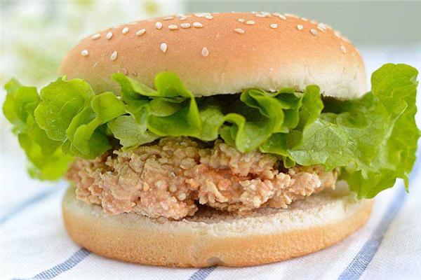 艾客莱炸鸡汉堡美味
