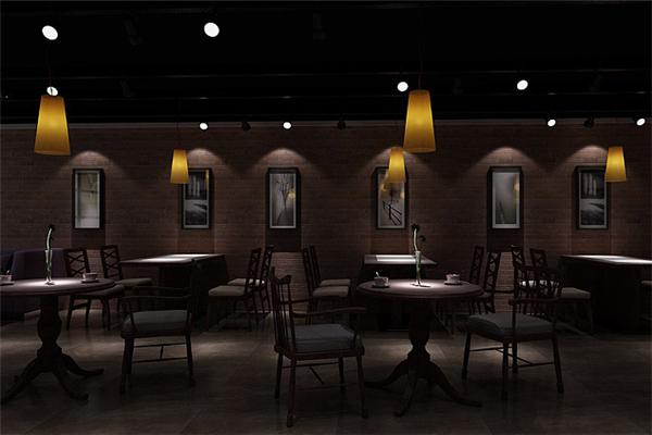 音乐主题咖啡厅店内装修