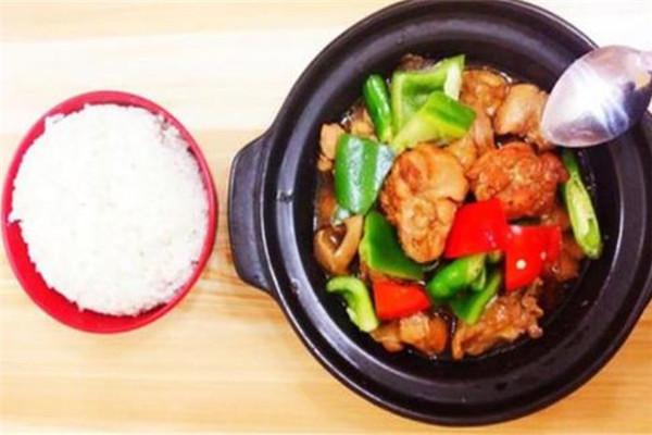 尚記黃燜雞米飯套餐