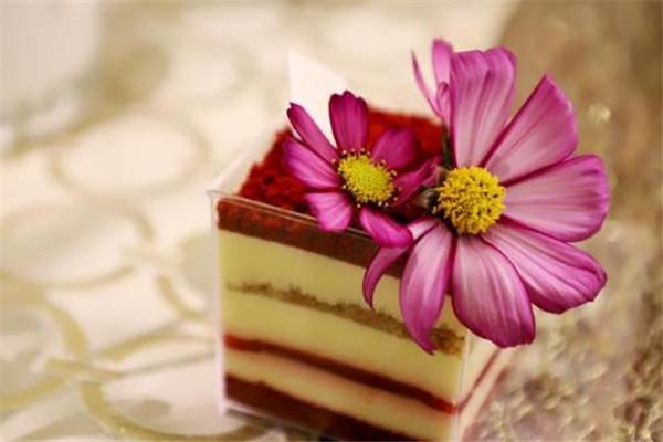 绿季法式甜品美味