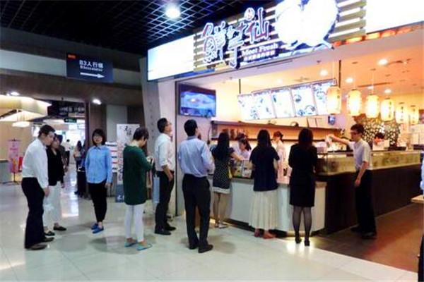 鲜芋惠仙门店排队