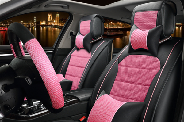 护驾少有宝汽车用品粉红色