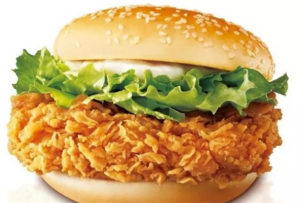 开开鸡排汉堡劲脆鸡