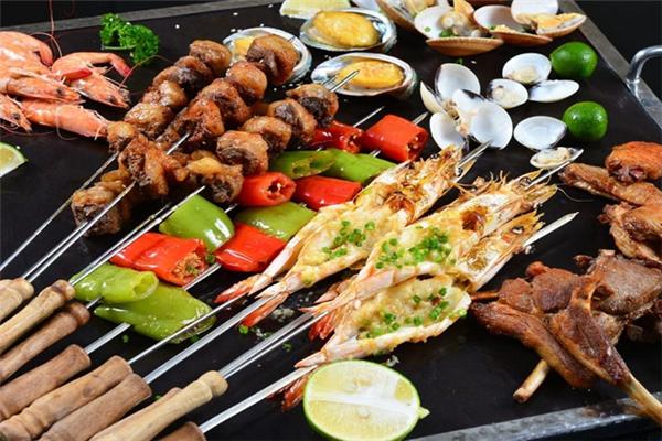 瓜豆传说韩国纸上烧烤大虾