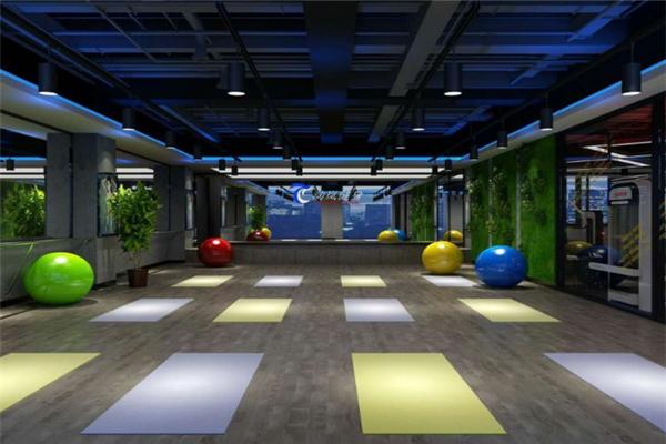 动岚健身俱乐部教练培训瑜伽室