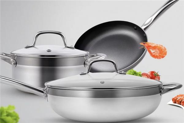 國美進口廚房套裝鍋具