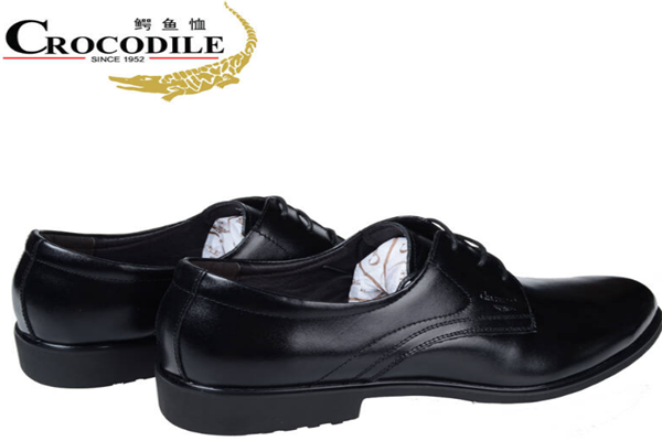 鱷魚恤皮鞋舒適