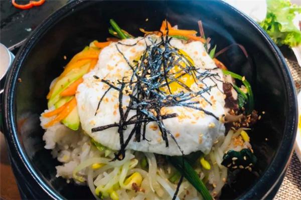 正一品韩国料理拌饭