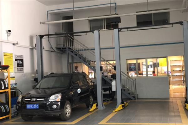 馬立可汽車維修環境
