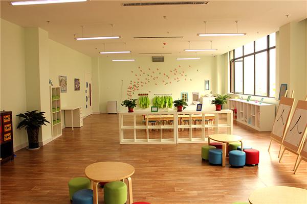 北大附属实验学校幼儿园整洁