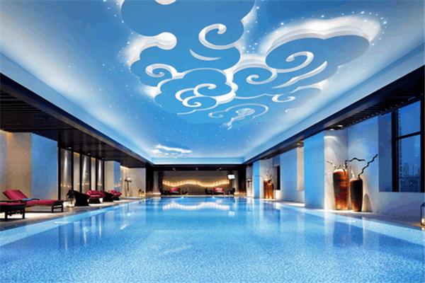 萬達文華酒店游泳池