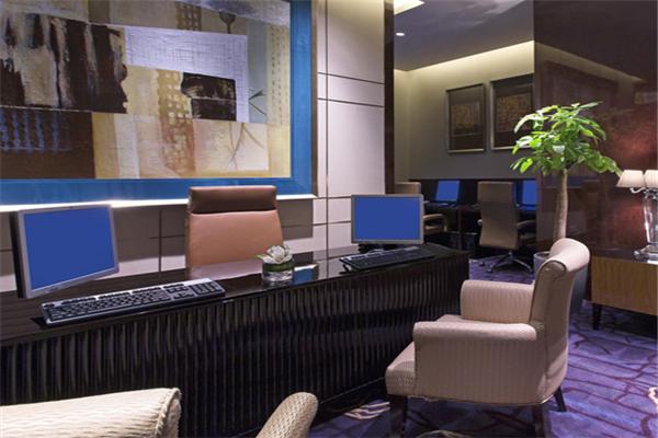 萬達文華酒店大廳