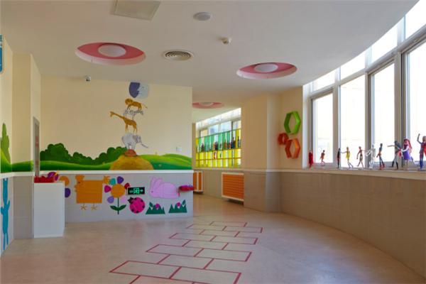 北师大附属幼儿园整洁