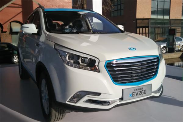 華泰電動汽車新品