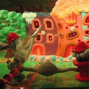 糖果親子樂園展示