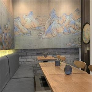 故宮角樓咖啡店裝潢