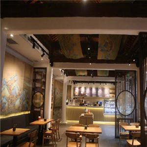 故宮角樓咖啡店餐桌