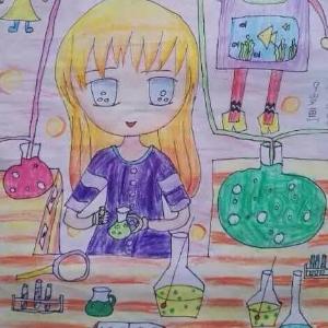 溢美少兒美術教育展示