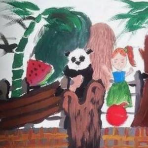 溢美少兒美術教育繪畫
