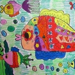 溢美少兒美術教育創作