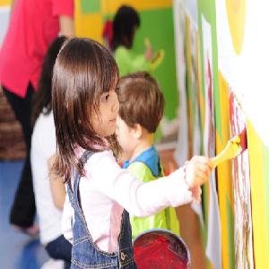 维贝尼国际儿童教育中心画画