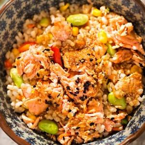 泰烧烤鱼饭快餐特色