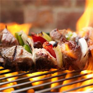 牛么么黄牛肉串烧烤美味