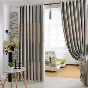胜家罗兰窗帘客厅窗帘展示