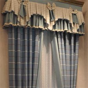 胜家罗兰窗帘卧室窗帘展示