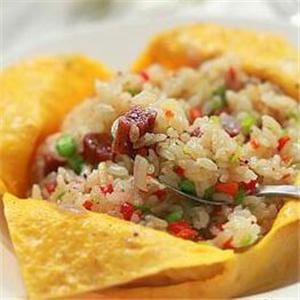 本家蛋包饭米饭