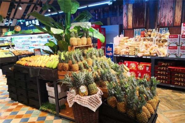 海港超市水果区