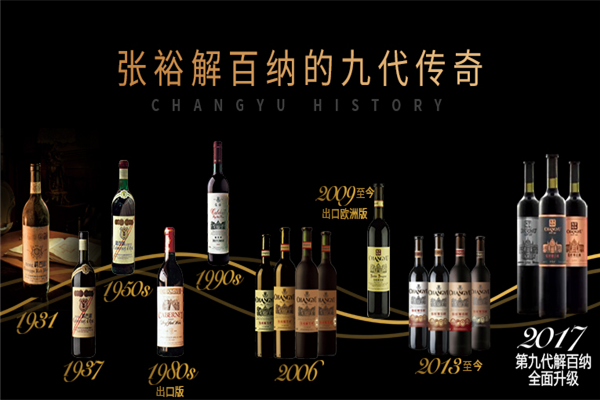 张裕解百纳葡萄酒品种多