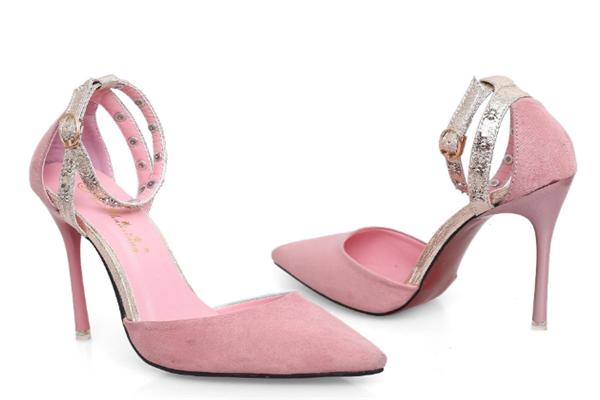 伊伴女鞋粉色