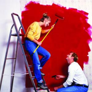 潤立涂料紅色