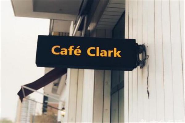 CafeClark招牌